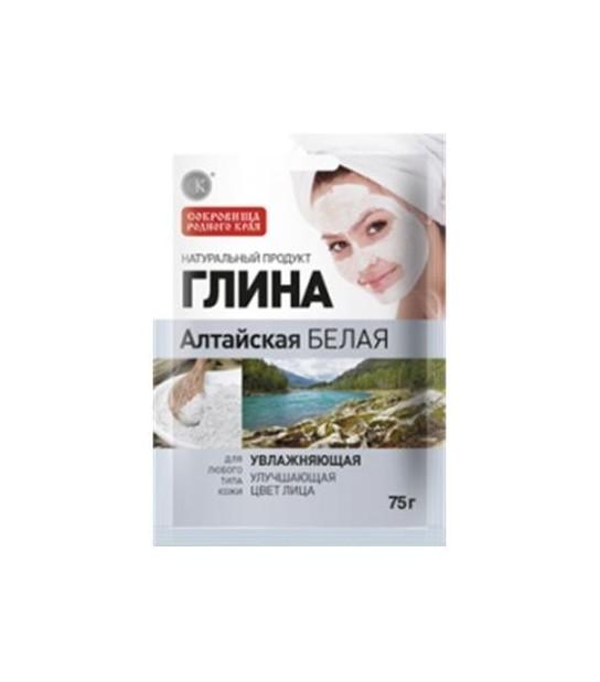 Biała Ałtajska Glinka nawilżająca Maska - Fitokosmetik 4607051795938 Naturalne Kosmetyki
