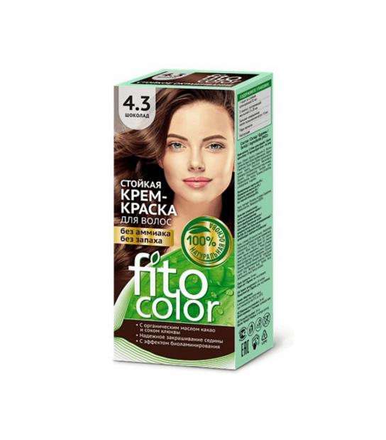 Farba do włosów 4,3 Czekolada FITOCOLOR - Naturalne Kosmetyki