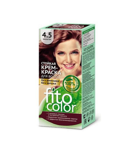 Farba do włosów 4,5 MOHOŃ FITOCOLOR - Naturalne Kosmetyki
