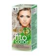 Farba do włosów 9,1 POPIELATY BLOND Fitokosmetik