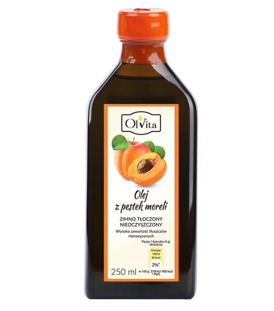 Olej z pestek Moreli 250ml zimno tłoczony