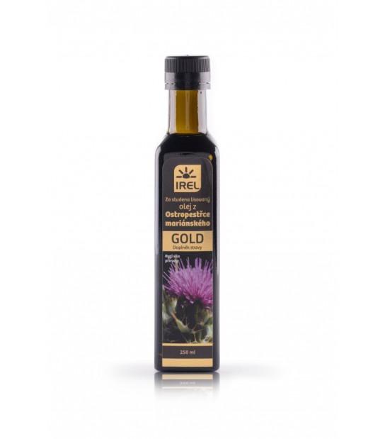 Olej z Ostropestu Gold 250ml zimno tłoczony