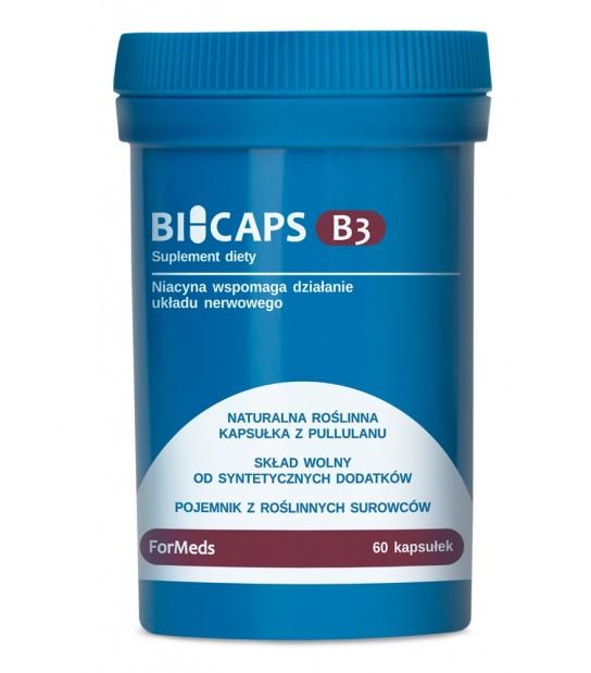 BiCaps Formeds Witamina B3 Wspomaga działanie układu nerwowego
