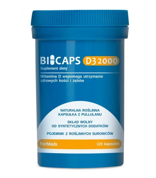 BiCaps Formeds Witamina D3 Suplementy Diety