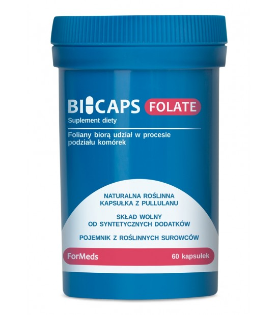 BiCaps Formeds FOLATE Suplementy Diety