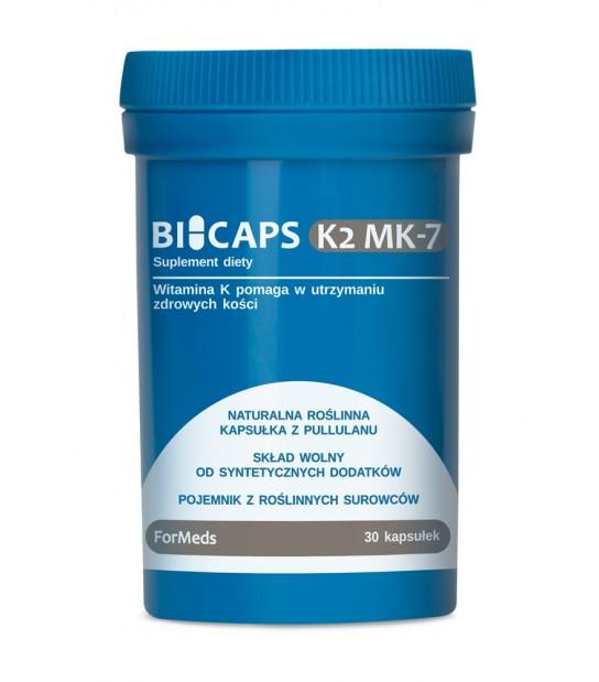 Suplement diety Bicaps Witamina K2 MK-7 - Zadbaj o zdrowe kości