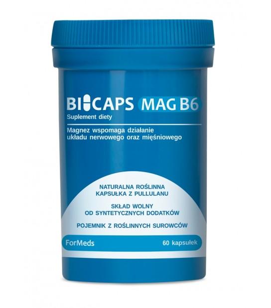 Suplement diety Bicaps MAG B6 - Magnez + Witamina B6