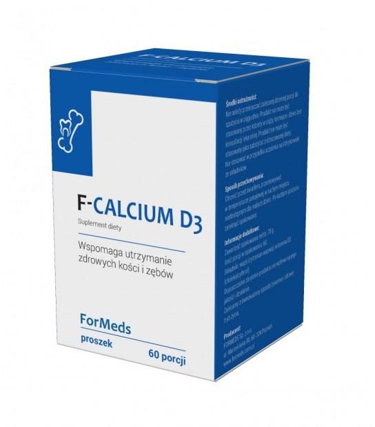 Wapon + Witamina D3 w formie proszku BiCaps F-CALCIUM Formeds