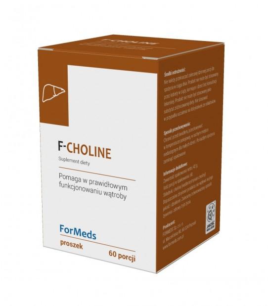 Cholina w proszku F-CHOLINE - Zdrowa Wątroba -Suplementy Diety