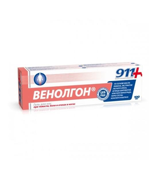 4607010242558 Balsam łagodzący do stóp Venolgon 911 - Sklep Naturalne Kosmetyki