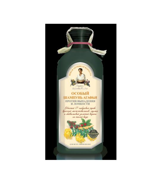 4607040318612 Szampon Specjalny przeciw wypadającym włosom 350ml AGAFIA - Naturalne Kosmetyki