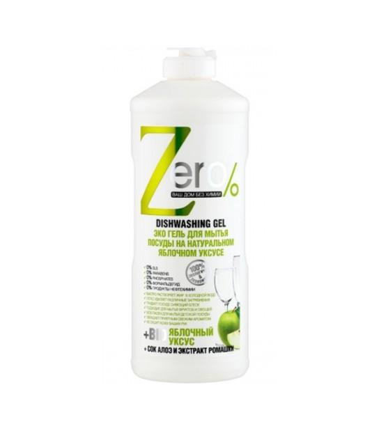 BIO Żel do mycia naczyń, całkowicie NATURALNY 500ml ZERO 4630007834382 Naturalne Środki Czystości