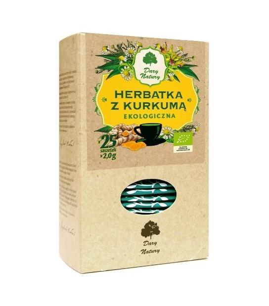 Herbatka z Kurkumą Ekoherbatka ekspresowa