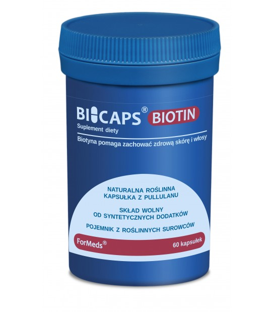 Bicaps Biotin 60 kaps