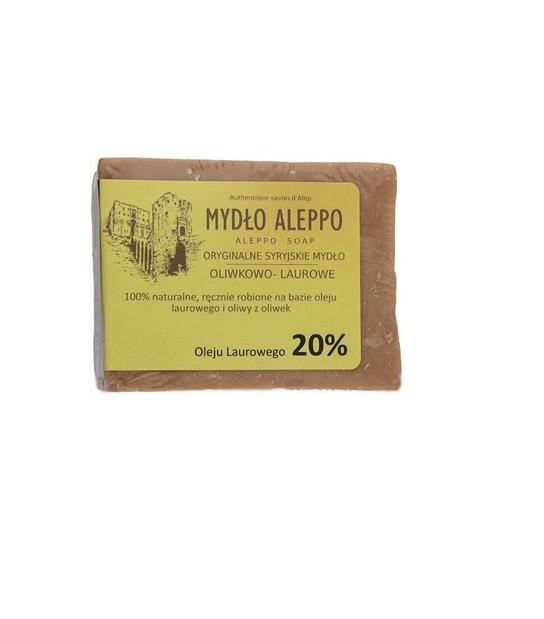 Mydło Aleppo 20% oleju laurowego 190g