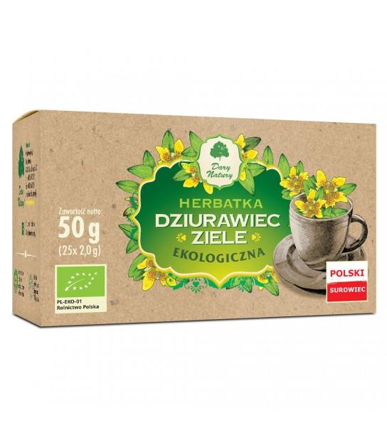 DZIURAWIEC ZIELE EKO herbatka ekspresowa