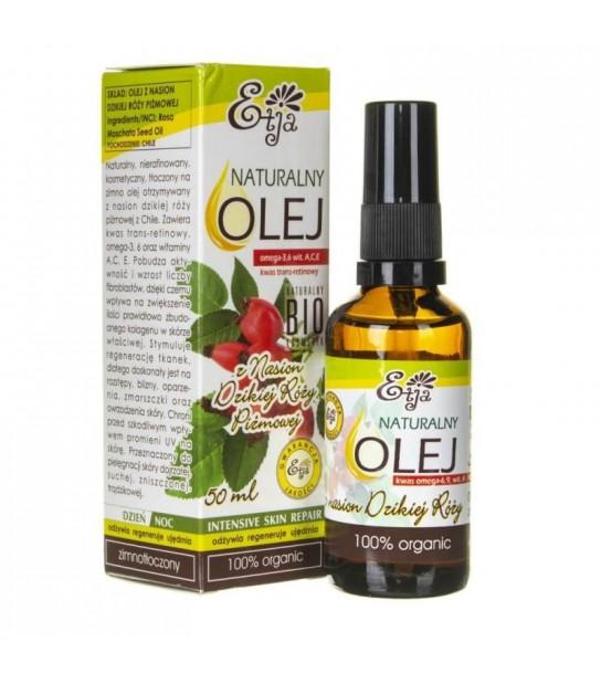 Naturalny olej z nasion dzikiej róży piżmowej Etja 50ml