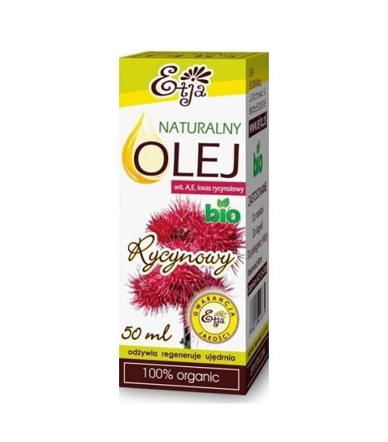 Naturalny olej Rycynowy Etja 50ml
