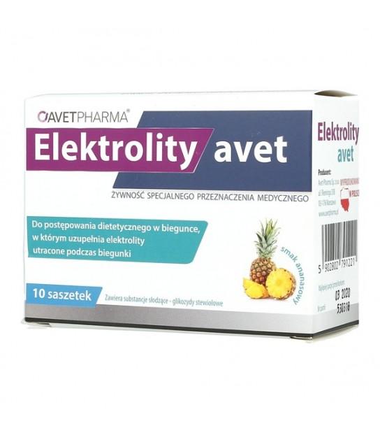 Elektrolity avet 10 saszetek