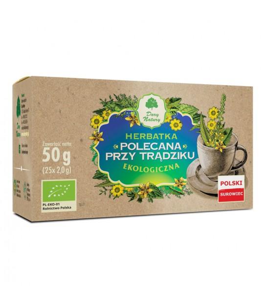 POLECANA PRZY TRĄDZIKU EKO herbata ekspresowa