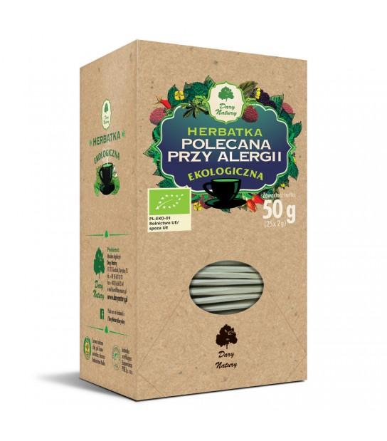 POLECANA PRZY ALERGII EKO herbata ekspresowa