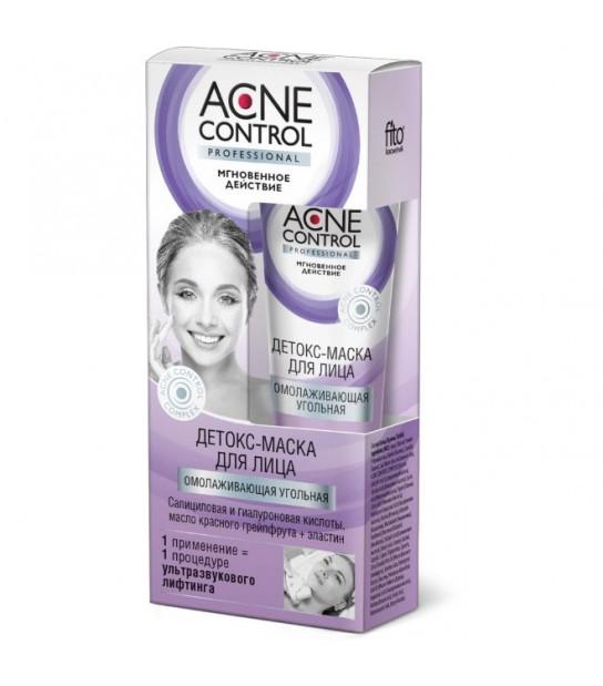 Fitokosmetik Acne Control Detoks-maska do twarzy Węglowa 45ml