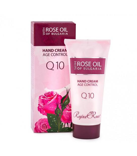 Krem do rąk z naturalnym olejem z płatków róży damasceńskiej i wodą różaną Rose of Bulgaria 50ml