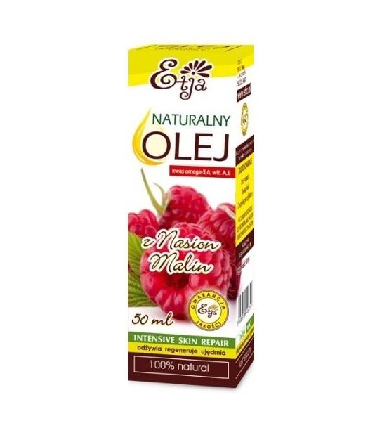 Naturalny olej z Nasion malin Etja 50ml