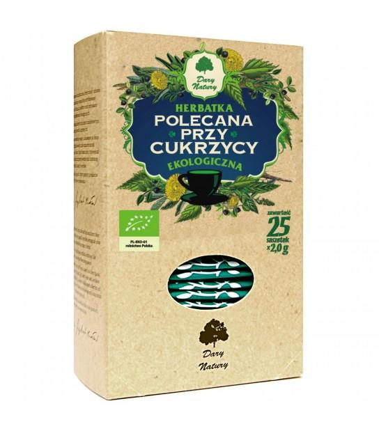 POLECANA PRZY CUKRZYCY EKO herbata ekspresowa