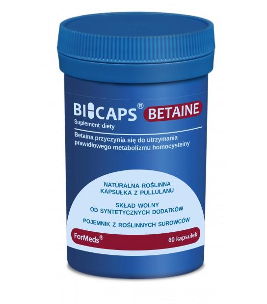 BICAPS Betaina HCL 60 kaps