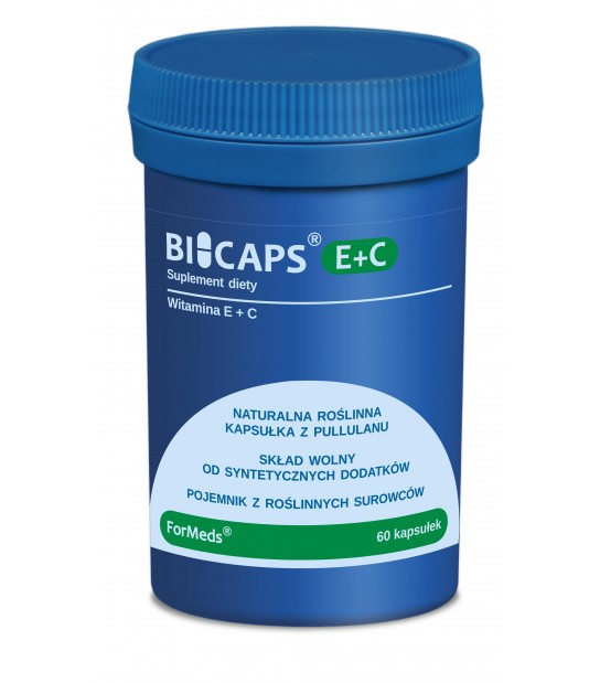 BICAPS Witamina E+C 60 kaps
