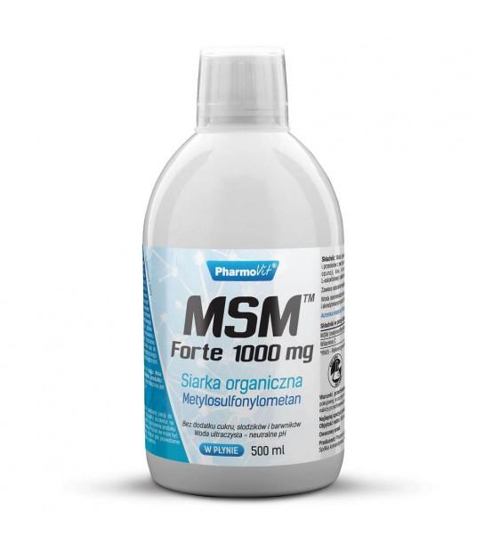 Pharmovit MSM Forte 1000mg 500ml Suplement diety w płynie