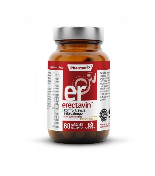 Pharmovit Erectavin Komfort życia seksualnego 60 kaps. Suplement diety
