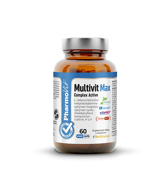 Pharmovit Multivit Max Complex Active 60kaps. Suplement diety