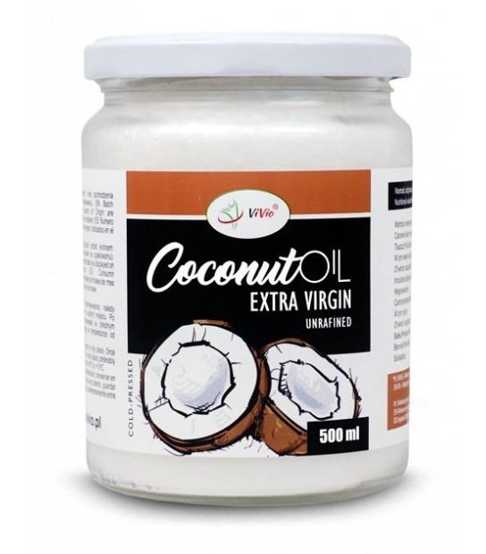 Olej Kokosowy Nierafinowany Extra Virgin 500ml