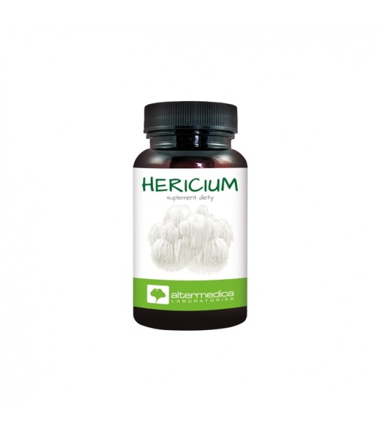 Hericium 60 kaps Soplówka Jeżowata