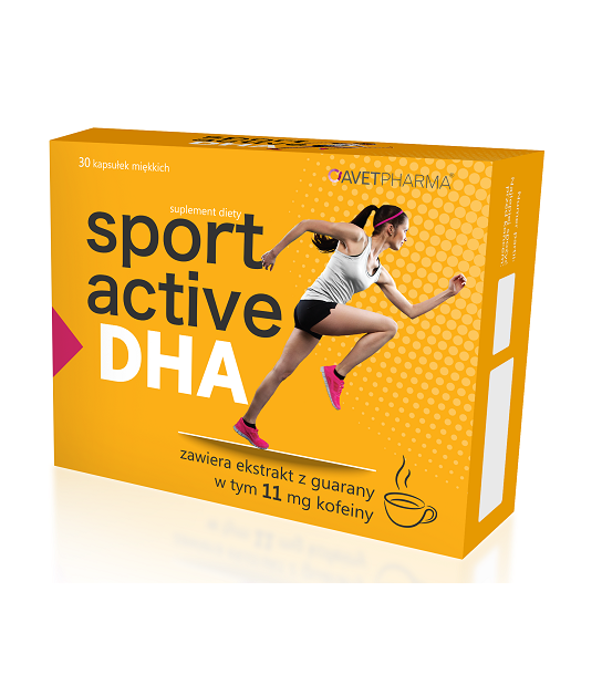 Sport active DHA 30 kaps.
