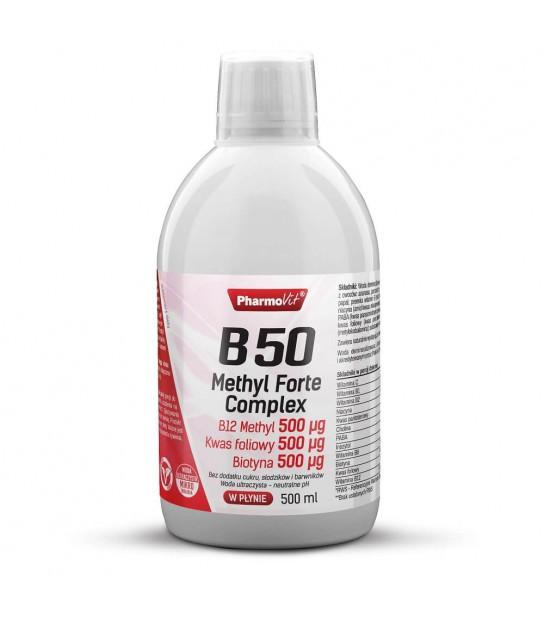 Pharmovit B50 Methyl Forte Complex 500ml Suplement diety w płynie