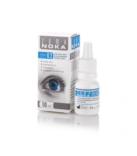 Zuma noka Krople do oczu z hialuronianem sodu 0,2% roztwór 10ml