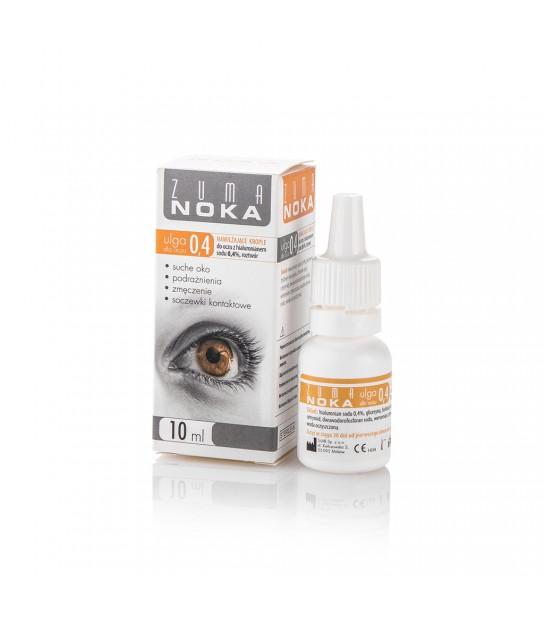 Zuma noka Krople do oczu z hialuronianem sodu 0,4% roztwór