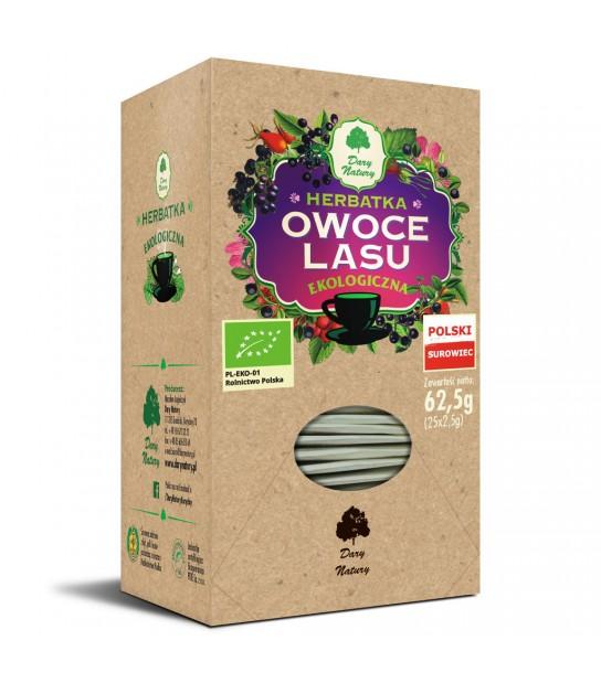 Owoce Lasu herbata ekspresowa Ekologiczna 25x2,5g