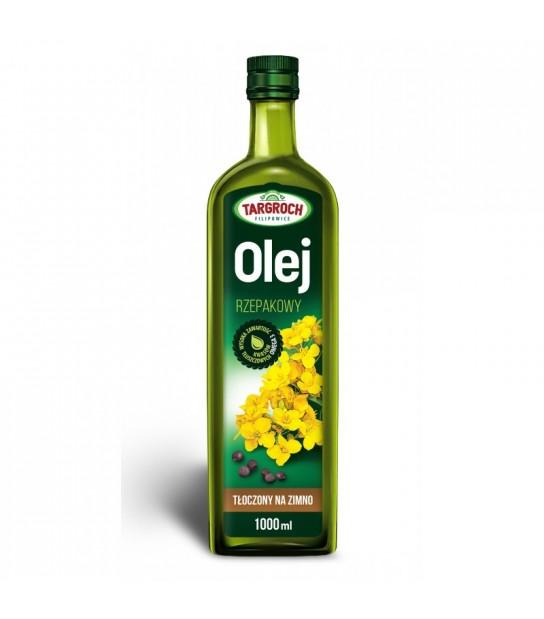 Olej rzepakowy Tłoczony na zimno 1l