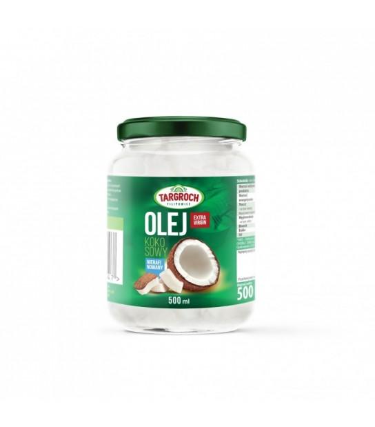 Olej kokosowy Extra Virgin Nierafinowany 500ml