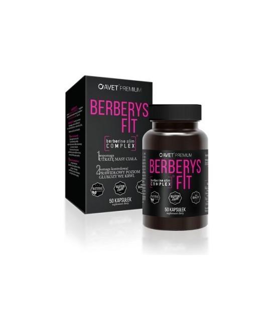 Berberys fit 50 kaps. Suplement diety