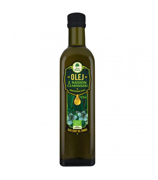 Olej z Nasion Czarnuszki Ekologiczny 250ml