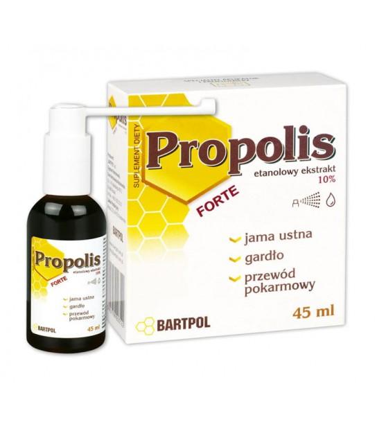 Propolis Forte etanolowy ekstrakt propolisu 10% 45ml