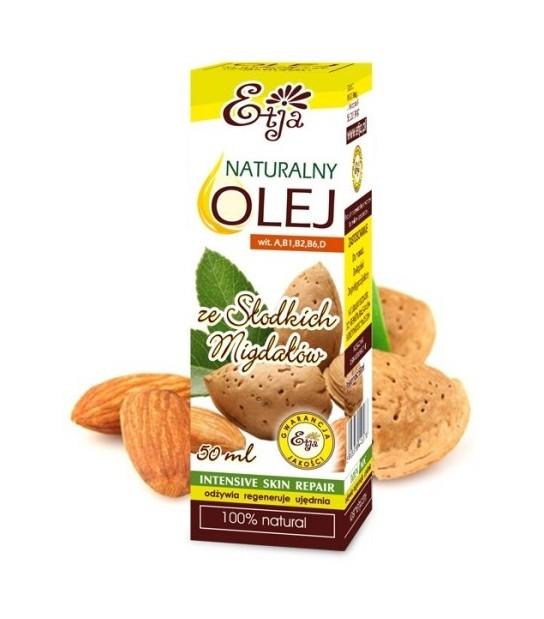 Naturalny olej ze Słodkich Migdałów 50ml