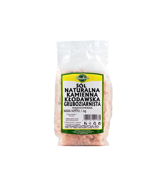Sól Naturalna Kamienna Kłodawska Gruboziarnista 1,1 kg