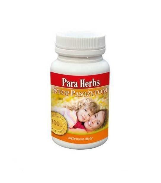Para Herbs Stop Pasożytom , Grzybom, Bakteriom - 60 kapsułek