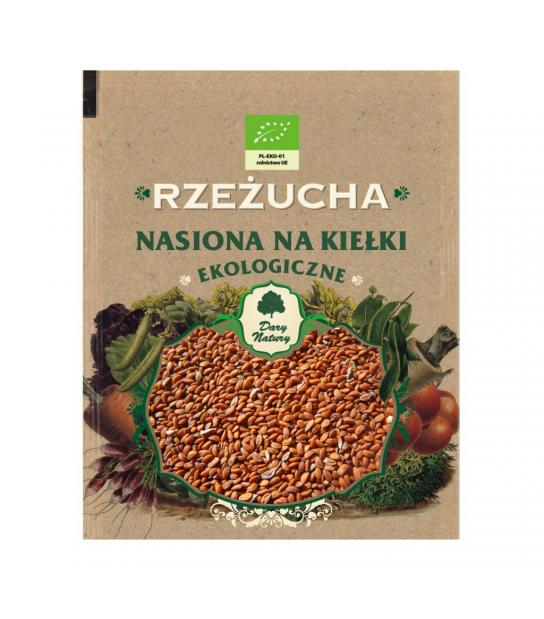 Rzeżucha - Nasiona na kiełki eko (30g)
